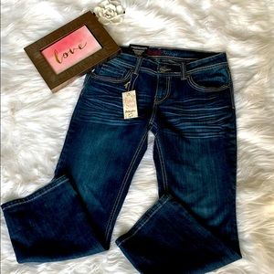 Baker Street London cropped jeans size 7 NWT